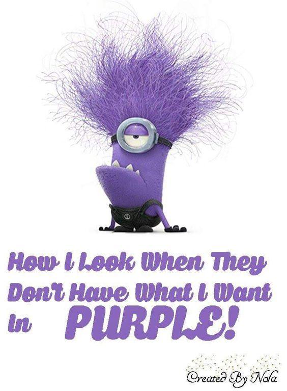 Purple Quotes Enchanting 48 Hilarious Purple Minions Quotes 48 Funny Minions Funny Funny