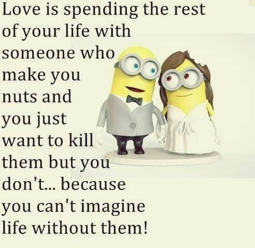 30 Minions Love Quotes Funny Minions Memes