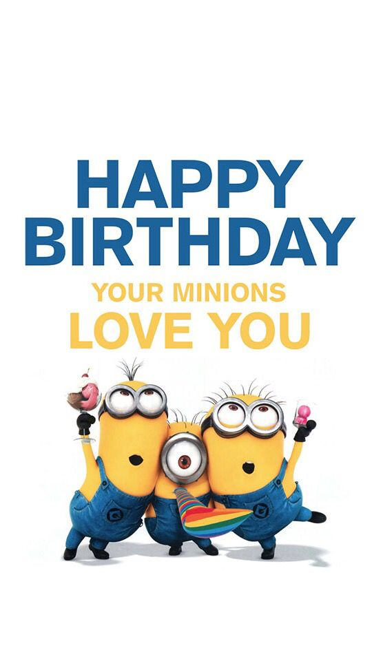 Minions Happy Birthday Cards Under Fontanacountryinn Com