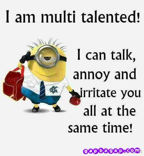 Latest 30 Funny Minions quotes of the week 12 #Funny #minion ...