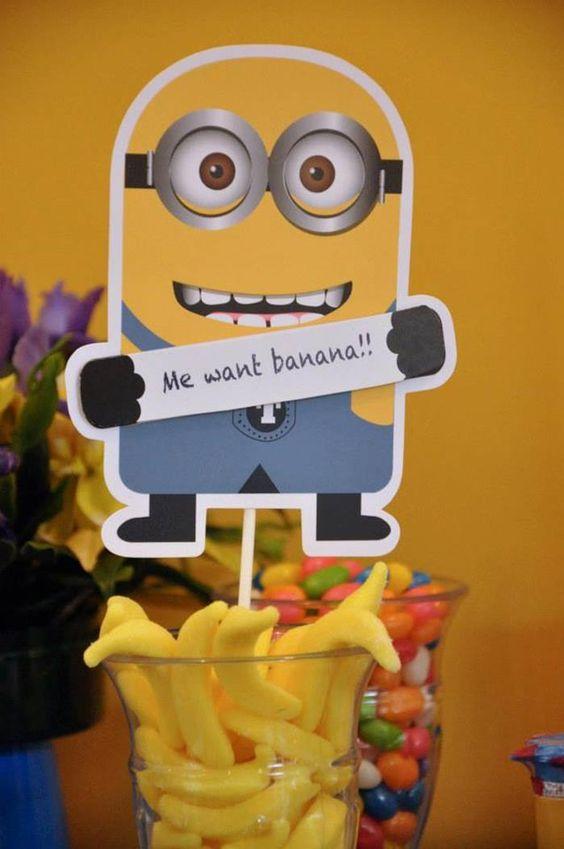 Banana Minions #banana #minions