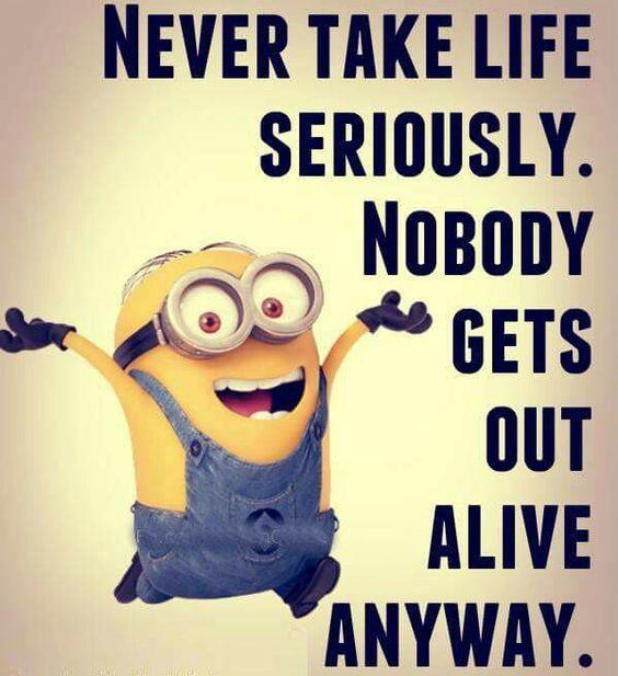 Happy Minions Quotes