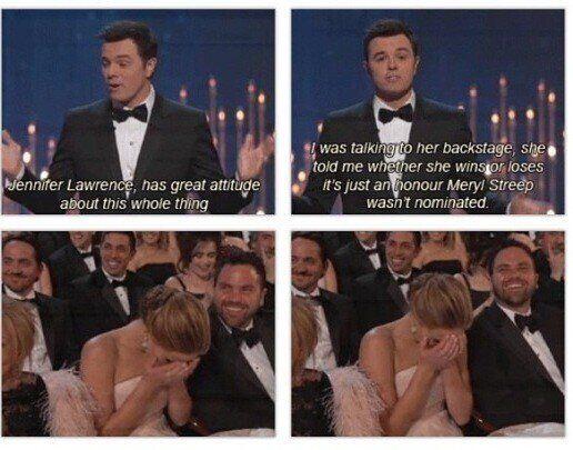20 Oscars memes Jennifer lawrence