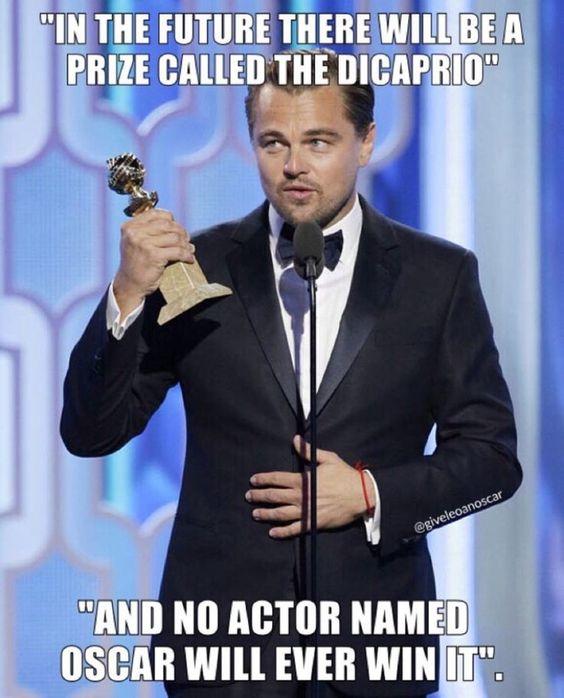 24 Oscars memes LEO